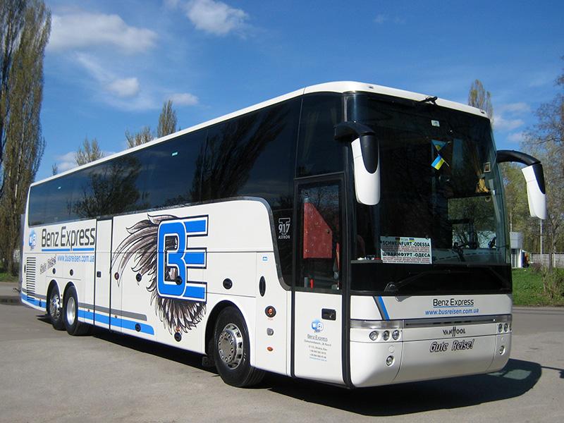 Автобусные перевозки в Берлин Benz Express