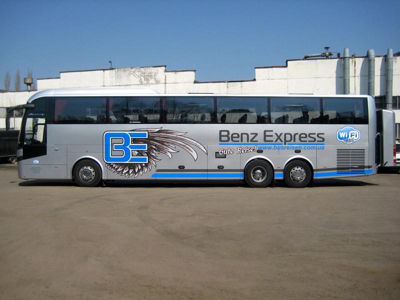 Автобусные перевозки в Германию Benz Express